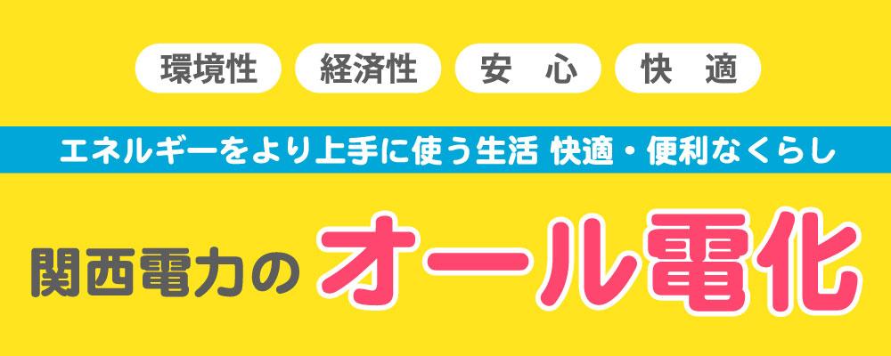 関西電力 オール電化